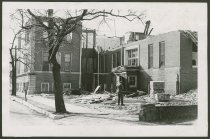 Image of Demolition of the Peoples College in New Albany, Indiana, 1962 - Demolition