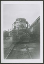 Image of Louisville and Nashville Railroad switcher - Railroad cars Railroad locomotives Railroad yards Switching, Railroad