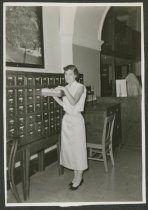 Image of Mary Ann Burke of NAFCPL  in New Albany, Ind., 1958