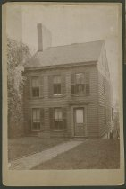 Image of Exterior of Scribner House, New Albany, Ind., ca. 1900 - Houses Historic buildings