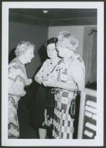Image of Elsa Strassweg with Mildred Fawcett and John Cody