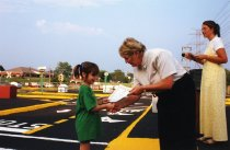 Image of Safety Town - New Albany Tribune Newspaper photos Community Outreach