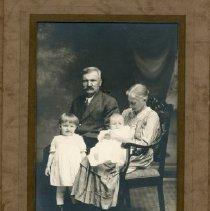 Image of Mattias & S. Katarina Grekila, grandchildren Helen Kukkonen & Edith Kruka