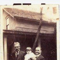 Image of Three generations (Mattias Grekila, Charles Kukkonen, Helen Kukkonen)