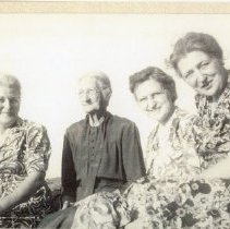 Image of Three sisters and mother