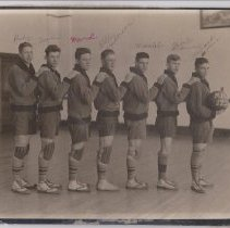 Image of Michigamme High School Basketball Team, 1920