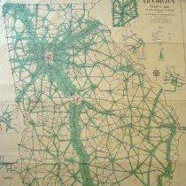 Image of GA Traffic Map 1972