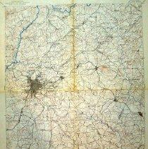 Image of Atlanta, Georgia Dept. of Interior's Geological Survey - Atlanta, Georgia