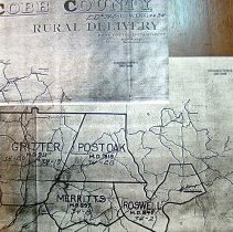 Image of Map of Cobb County; ED34 Rural Delivery - Cobb County E.D. 34