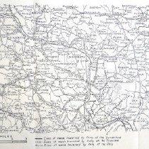 Image of Civil War War Dept Map of Atlanta Campaign 2