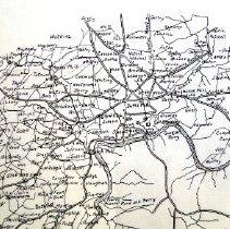 Image of Civil War War Dept Map of Atlanta Campaign 4