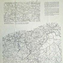 Image of Civil War War Dept Map of Atlanta Campaign