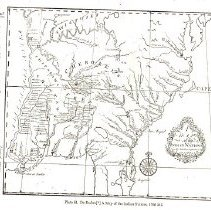 Image of De Braham a map of Indian Nations