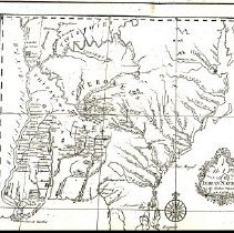 Image of De Braham a map of Indian Nations 2
