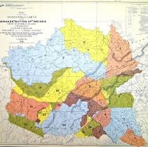 Image of Map of the former Territorial Limits of the Cherokee Nation of Indians - Map of the former Territorial Limits of the Cherokee Nation of Indians