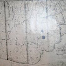 Image of A map of  that part of Georgia Occupied by the Cherokee Indians - A map of that part of GA occupied by the Cherokee Indians