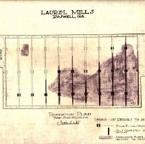 Image of Laurel Mill Mfg Co.  3 story Bldg