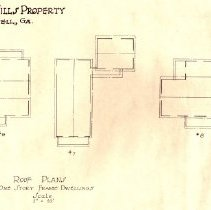 Image of Laurel Mill Mfg Co Roof Plans House #5-#9 2