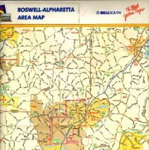 Image of Roswell Bell South map