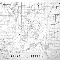 Image of Roswell landlots with streets 2