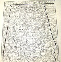 Image of Gray's New Map of Alabama 1878