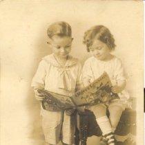 Image of Aubrey Strickland and Virginia Strickland - James Solon Houze family