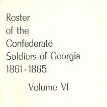 Image of Roster of the Confederate Soldiers of Georgia 1861-1865, Volume VI - Henderson, Lillian