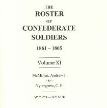 Image of The Roster of Confederate Soldiers 1861-1865   - Hewett, Janet B. editor