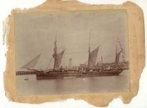 Image of [HMS 'Ringdove at Timaru] -