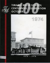 Image of Timaru Main School centennial celebration, October 1974 - Button, John, 1931-