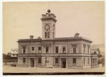 Image of Government Offices & Jubilee fountain, Timaru -