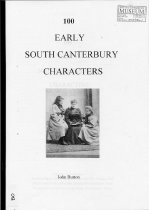 Image of 100 early South Canterbury characters - Button, John