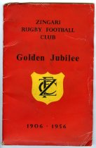 Image of History of the Zingari Rugby Football Club : golden jubilee 1906-1956 - Manning, Dudley J