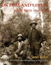Image of On Zealand's hills : where tigers steal along - Holm, Janet