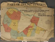 Image of Plan of subdivision of 3,579 acres part of Holme Station near Timaru : property of Arthur S. Elworthy Esq. -
