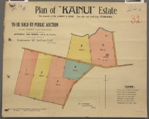 Image of Plan of 'Kainui' Estate : the property of Mr Albert E Kerr. One mile and a-half from Timaru -