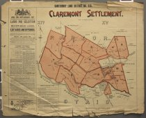 Image of Canterbury Land District No.466 : Claremont Settlement - Canterbury Land District Sale Plans