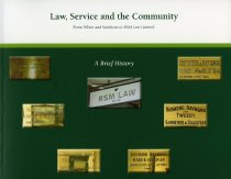 Image of Law, service and the community : from White and Smithson to RSM Law Limited. A brief history - Raymond, Wynne Archdall
