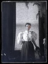 Image of [Unidentified woman, Clayton Station] - Clayton Station Collection