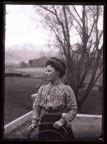 Image of [Unidentified woman, Clayton Station?] - Clayton Station Collection