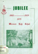 Image of Jubilee history of the Waimate High School - Hunt, Les (ed.)