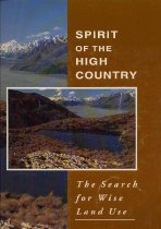 Image of Spirit of the high country : the search for wise land use -