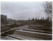 Image of [John Jackson & Co's North Street yard, Timaru[ -