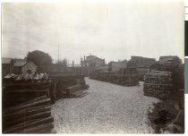 Image of [John Jackson & Co's yard, Heaton Street, Timaru] -