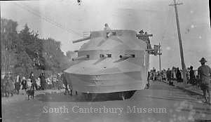 [Victory parade, Timaru, 1919] - South Canterbury Museum