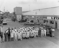 Image of [Staff and directors of Feron Seafoods Ltd, Timaru] -