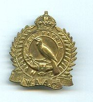 New Zealand Women's Auxiliary Army Corps cap badge...