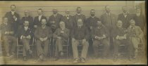 Image of [Timaru Harbour Board and staff, 1905] -