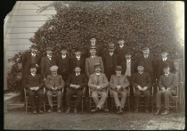 Image of [Timaru Harbour Board and staff, 1911] -