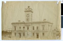 Image of [Timaru Post Office with timeball] -